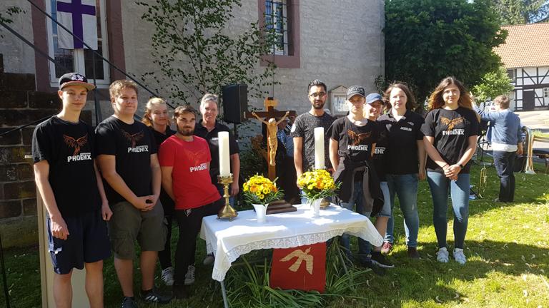Open-Air Gottesdienst: Von Pfingsten ging ein Funke aus